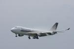 Fukutaroさんが、北九州空港で撮影したシンガポール航空カーゴ 747-412F/SCDの航空フォト(写真)