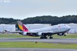 吉田高士さんが、成田国際空港で撮影したアシアナ航空 747-48EMの航空フォト(写真)