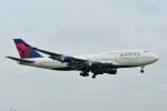 saoya_saodakeさんが、成田国際空港で撮影したデルタ航空 747-451の航空フォト(写真)