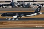 RINA-200さんが、羽田空港で撮影したスターフライヤー A320-214の航空フォト(写真)