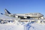 べガスさんが、新千歳空港で撮影したチャイナエアライン 747-409の航空フォト(写真)