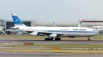誘喜さんが、ロンドン・ヒースロー空港で撮影したクウェート航空 A340-313の航空フォト(写真)