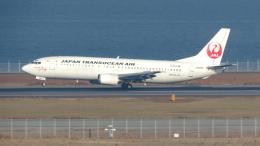 誘喜さんが、関西国際空港で撮影した日本トランスオーシャン航空 737-446の航空フォト(写真)