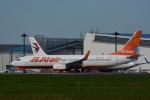 よしポンさんが、成田国際空港で撮影したチェジュ航空 737-8ASの航空フォト(写真)