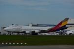 よしポンさんが、成田国際空港で撮影したアシアナ航空 747-48EMの航空フォト(写真)