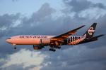 きゅうさんが、成田国際空港で撮影したニュージーランド航空 777-219/ERの航空フォト(写真)