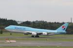 OS52さんが、成田国際空港で撮影した大韓航空 747-8B5の航空フォト(写真)