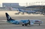 ハピネスさんが、関西国際空港で撮影した山東航空 737-85Nの航空フォト(写真)