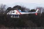ぽんさんが、高松空港で撮影したつくば航空 AS350B Ecureuilの航空フォト(写真)