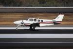 ぽんさんが、高松空港で撮影した航空大学校 Baron G58の航空フォト(写真)