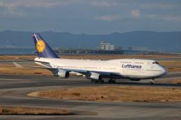 A350XWB-HNDさんが、関西国際空港で撮影したルフトハンザドイツ航空 747-430の航空フォト(写真)