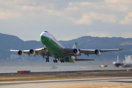 A350XWB-HNDさんが、関西国際空港で撮影したエバー航空 747-45EF/SCDの航空フォト(写真)