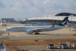 A350XWB-HNDさんが、関西国際空港で撮影したキャセイパシフィック航空 A350-941XWBの航空フォト(写真)