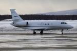 北の熊さんが、新千歳空港で撮影した Executive Jet Managementの航空フォト(写真)
