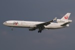 JRF spotterさんが、成田国際空港で撮影した日本航空 MD-11の航空フォト(写真)