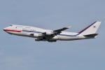 JRF spotterさんが、伊丹空港で撮影した大韓民国空軍 747-4B5の航空フォト(写真)