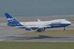 JRF spotterさんが、香港国際空港で撮影したシルク・ウェイ・エアラインズ 747-4R7F/SCDの航空フォト(写真)