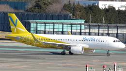 誘喜さんが、成田国際空港で撮影したバニラエア A320-214の航空フォト(写真)