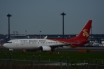 よしポンさんが、成田国際空港で撮影した深圳航空 737-86Nの航空フォト(写真)
