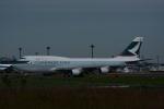よしポンさんが、成田国際空港で撮影したキャセイパシフィック航空 747-412(BCF)の航空フォト(写真)