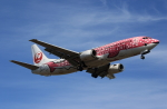 MOHICANさんが、福岡空港で撮影した日本トランスオーシャン航空 737-446の航空フォト(写真)