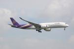 しかばねさんが、スワンナプーム国際空港で撮影したタイ国際航空 A350-941XWBの航空フォト(写真)