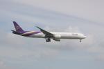 しかばねさんが、スワンナプーム国際空港で撮影したタイ国際航空 777-3D7/ERの航空フォト(写真)