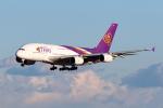 PIANOMAN777さんが、成田国際空港で撮影したタイ国際航空 A380-841の航空フォト(写真)