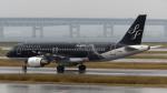 誘喜さんが、関西国際空港で撮影したスターフライヤー A320-214の航空フォト(写真)