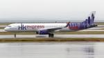 誘喜さんが、関西国際空港で撮影した香港エクスプレス A321-231の航空フォト(写真)