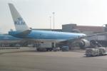 panchiさんが、アムステルダム・スキポール国際空港で撮影したKLMオランダ航空 777-206/ERの航空フォト(写真)
