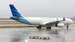 誘喜さんが、関西国際空港で撮影したガルーダ・インドネシア航空 A330-343Eの航空フォト(写真)