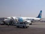 ken1☆MYJさんが、カイロ国際空港で撮影したエジプト航空 737-866の航空フォト(写真)
