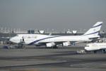 krozさんが、ジョン・F・ケネディ国際空港で撮影したエル・アル航空 747-458の航空フォト(写真)