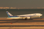 Gpapaさんが、羽田空港で撮影した全日空 777-281/ERの航空フォト(写真)