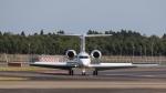 raichanさんが、成田国際空港で撮影したウェルズ・ファーゴ・バンク・ノースウェスト G-V-SP Gulfstream G550の航空フォト(写真)