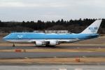 RJFT Spotterさんが、成田国際空港で撮影したKLMオランダ航空 747-406Mの航空フォト(写真)
