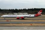 RJFT Spotterさんが、成田国際空港で撮影したヴァージン・アトランティック航空 A340-642の航空フォト(写真)