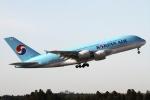RJFT Spotterさんが、成田国際空港で撮影した大韓航空 A380-861の航空フォト(写真)