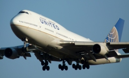 Bluewingさんが、成田国際空港で撮影したユナイテッド航空 747-422の航空フォト(写真)