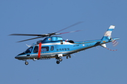 reonさんが、名古屋飛行場で撮影した群馬県警察 A109E Powerの航空フォト(写真)