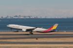 Gpapaさんが、羽田空港で撮影したアシアナ航空 A330-323Xの航空フォト(写真)