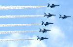 チャーリーマイクさんが、那覇空港で撮影した航空自衛隊 T-4の航空フォト(写真)