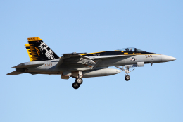 Echo-Kiloさんが、厚木飛行場で撮影したアメリカ海軍 F/A-18E Super Hornetの航空フォト(写真)