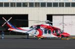 takaRJNSさんが、調布飛行場で撮影した札幌市消防局消防航空隊 AW139の航空フォト(写真)