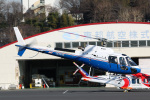 takaRJNSさんが、調布飛行場で撮影した東邦航空 AS350B3 Ecureuilの航空フォト(写真)