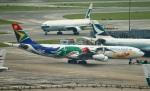 reonさんが、香港国際空港で撮影した南アフリカ航空 A340-313Xの航空フォト(写真)