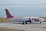 CB20さんが、関西国際空港で撮影したティーウェイ航空 737-8K5の航空フォト(写真)