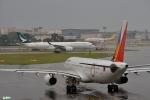妄想竹さんが、シンガポール・チャンギ国際空港で撮影したフィリピン航空 A330-343Xの航空フォト(写真)
