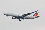 こだしさんが、成田国際空港で撮影したフィリピン航空 A330-343Xの航空フォト(写真)
